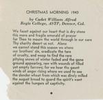 Christmas Morning 1943