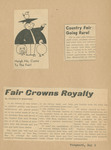 1941 College Fair Report arranged for publicity committee, page 9