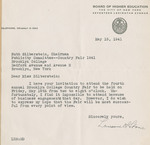 1941 College Fair Report arranged for publicity committee, page 20