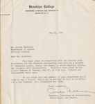 1941 College Fair Report arranged for publicity committee, page 21