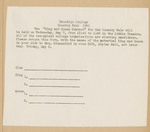 1941 College Fair Report arranged for publicity committee, page 32