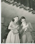 1951 Country Fair King and Queen competition photograph