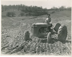 Student on a Tractor