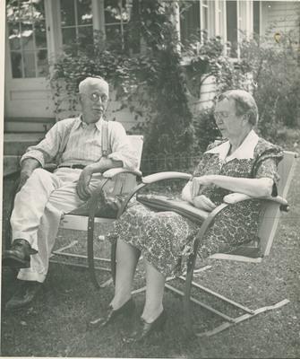 Unidentified  Elderly Couple