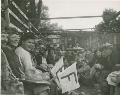 Group of Students Being Transported in a Truck