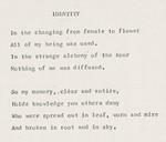 Identity by Hyacinthe Hill