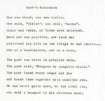 Poet's Rorschach