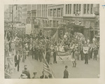 Photograph of Brooklyn College Contingent in NRA Parade by Brooklyn College