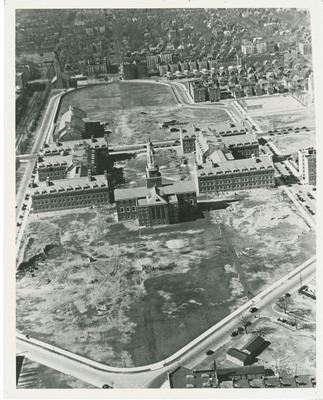 Aerial View of Midwood Campus