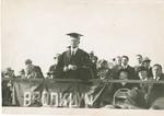 President Boylan at Midwood Campus Groundbreaking Ceremonies by Brooklyn College