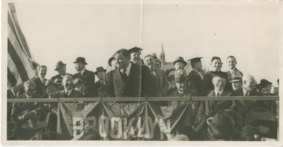 Mayor LaGuardia at Midwood Campus Groundbreaking Ceremonies