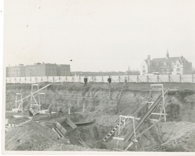 Early Construction of Midwood Campus
