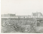 Early Construction of Midwood Campus by Brooklyn College