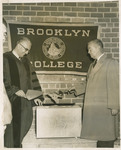 President Gideonse at Dedication of Whitman Hall by Brooklyn College