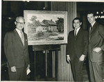 Presentation of Ditmas House Painting by Brooklyn College