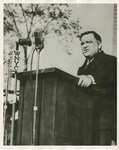 Mayor LaGuardia at Dedication by Brooklyn College