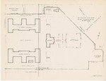 Plot Plan Showing Library, Academic and Science Buildings and Proposed Improvements by Anthony Pugliese