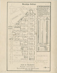 Plan of Property Purchase Authorized by Board of Estimate and Apportionment by Brooklyn College