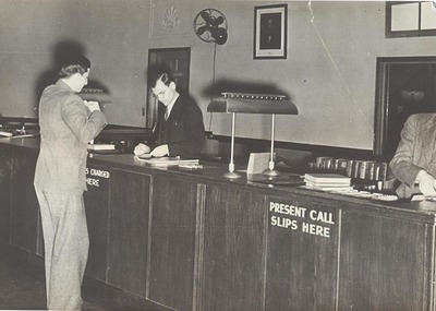 Library Call Desk