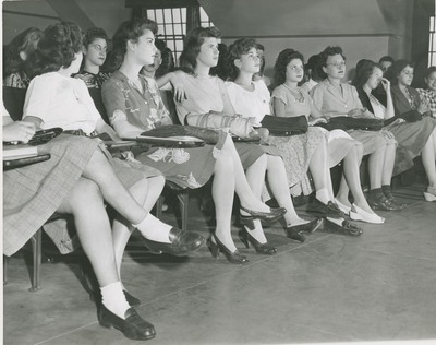 Freshman Orientation - September 1945
