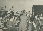 Orchestra in Rehearsal by Brooklyn College