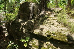 Ruins of colonial church at Pueblo Viejo (Old Town)