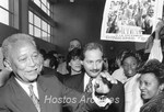 David Dinkins and Fernando Ferrer photograph