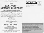 Open Mic/ Microfono Abierto Flyer, page 2