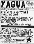YAGUA/ Boletin: Estudiantes Concientes Flyer