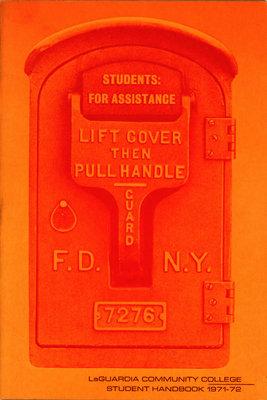 Student Handbook 1971-72