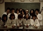 Group shot of Veterinary Technology Students