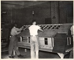 Students Working on a Model House at the New York Trade School