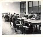 Students Working in New York Trade School Library