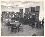 View of the library at the New York Trade School
