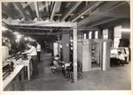 Students at work in the Air Conditioning and Refrigeration Department of the New York Trade School