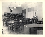 View of the library at the New York Trade School (2)