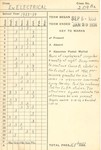 Student Records 1933-1934 by New York Trade School