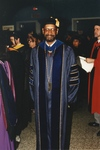 Charles W. Merideth at Commencement Ceremony