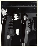 Ursula C. Schwerin at Commencement Ceremony