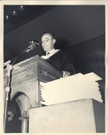 Otto Klitgord at 1951 Commencement Ceremony