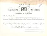 Voorhees Sample Diploma 3