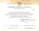 Voorhees Sample Diploma 1